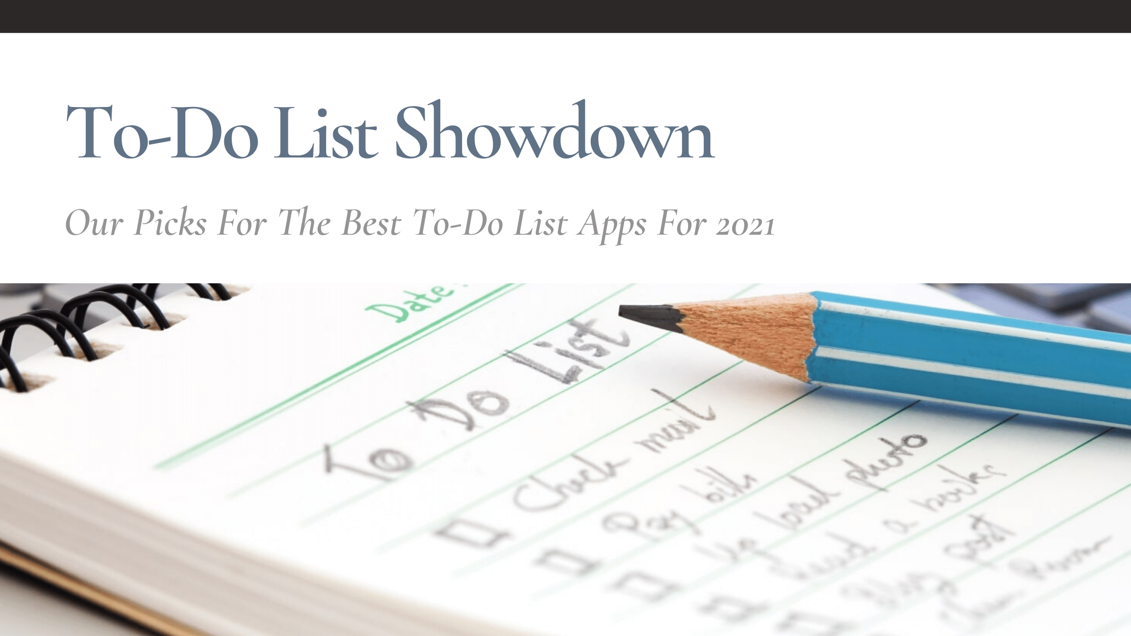 best to do list app featured
