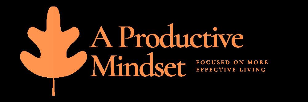 A Productive Mindset