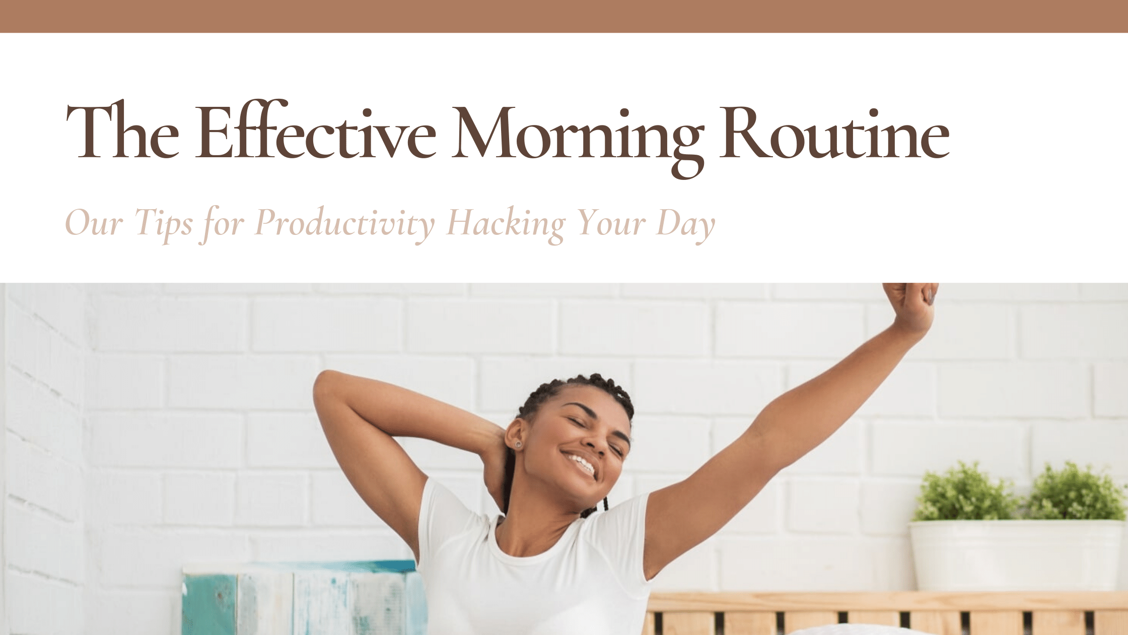 morning routine featured